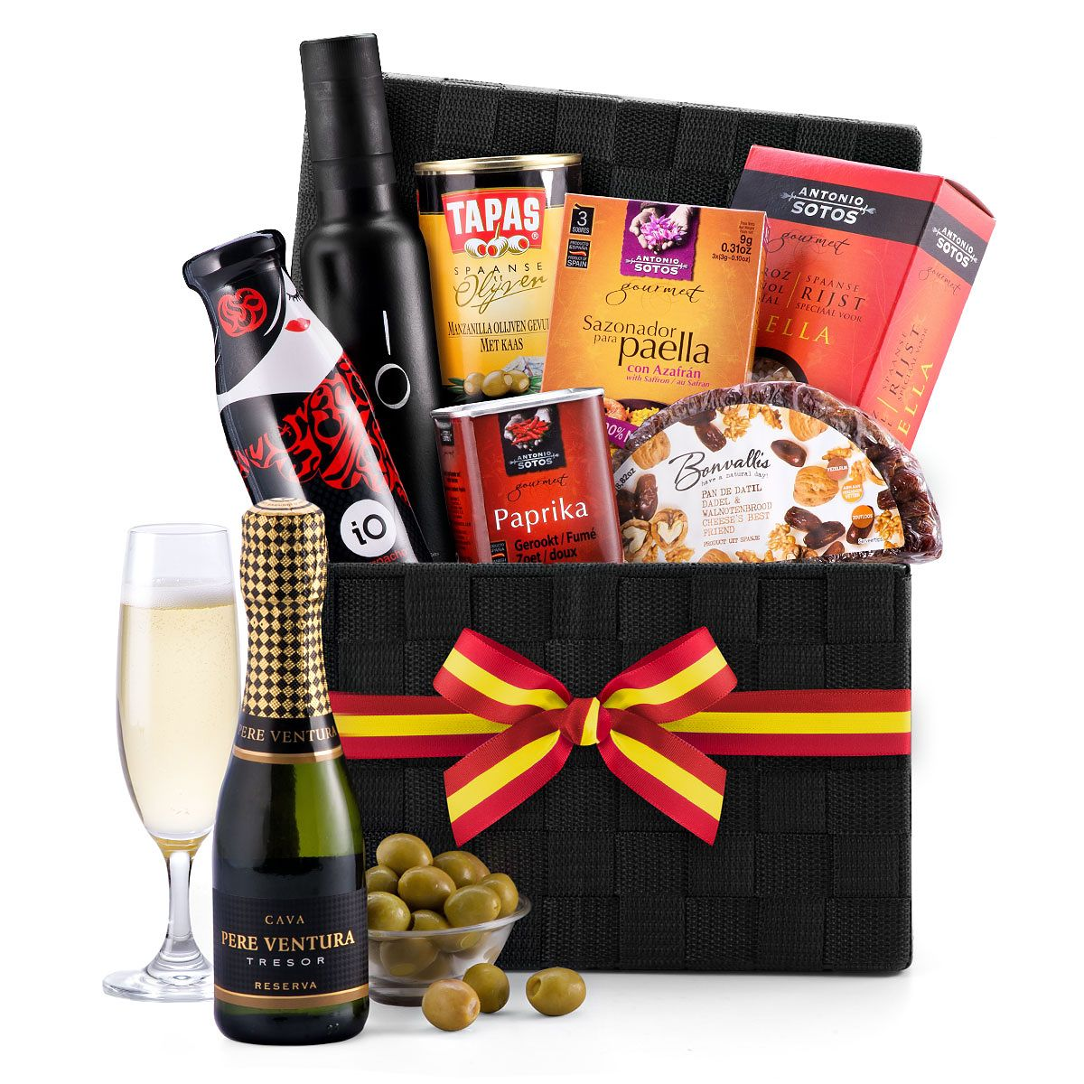 Spanish Gourmet Hamper with Sparkling Cava