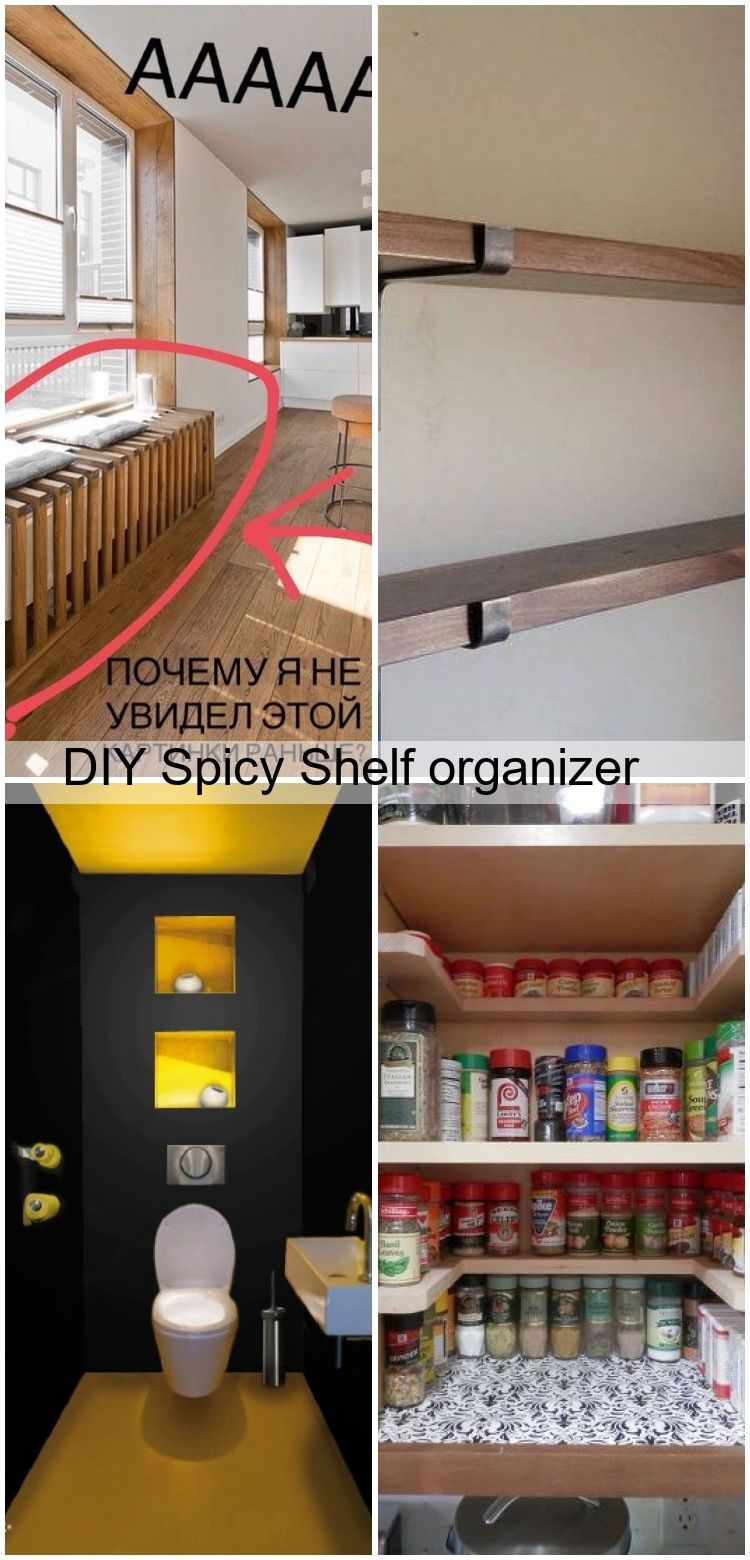 Diy Spicy Shelf Organizer Diy Organizer Shelf Spicy In 2020 Industrie Küche Küche Industrie
