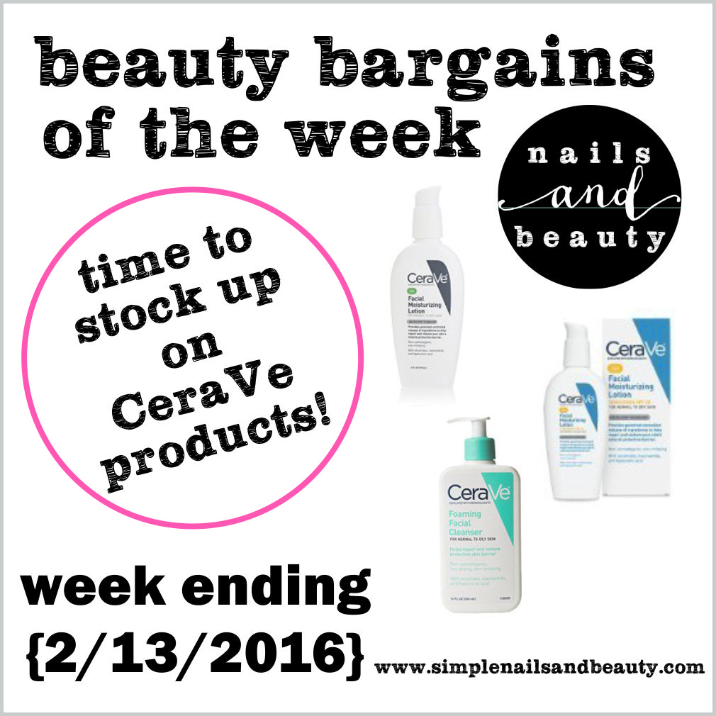 Time to Stock up on CeraVe Products Walgreens Beauty