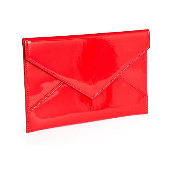 Envelope Red Medium Clutches Amp Evening Bags 32 Liked On