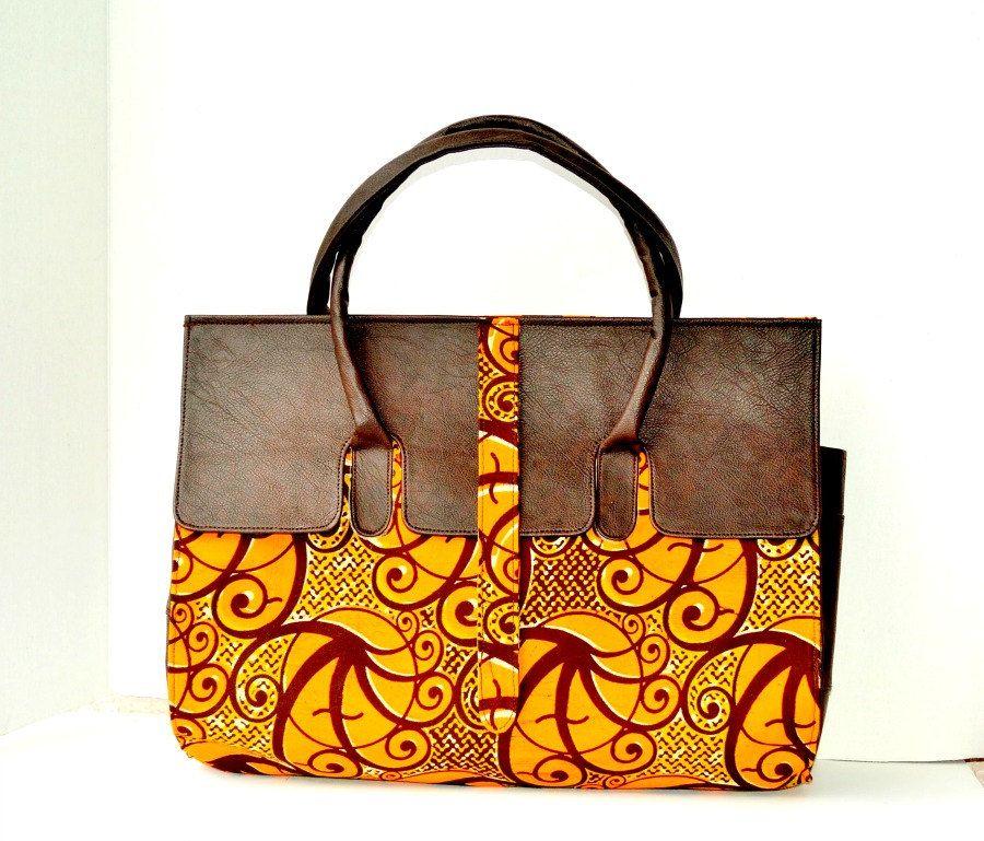 African Print Top Handle Bag Ankara Satchel Tote Women Handbags S Handbag By Zabbadesigns On Etsy