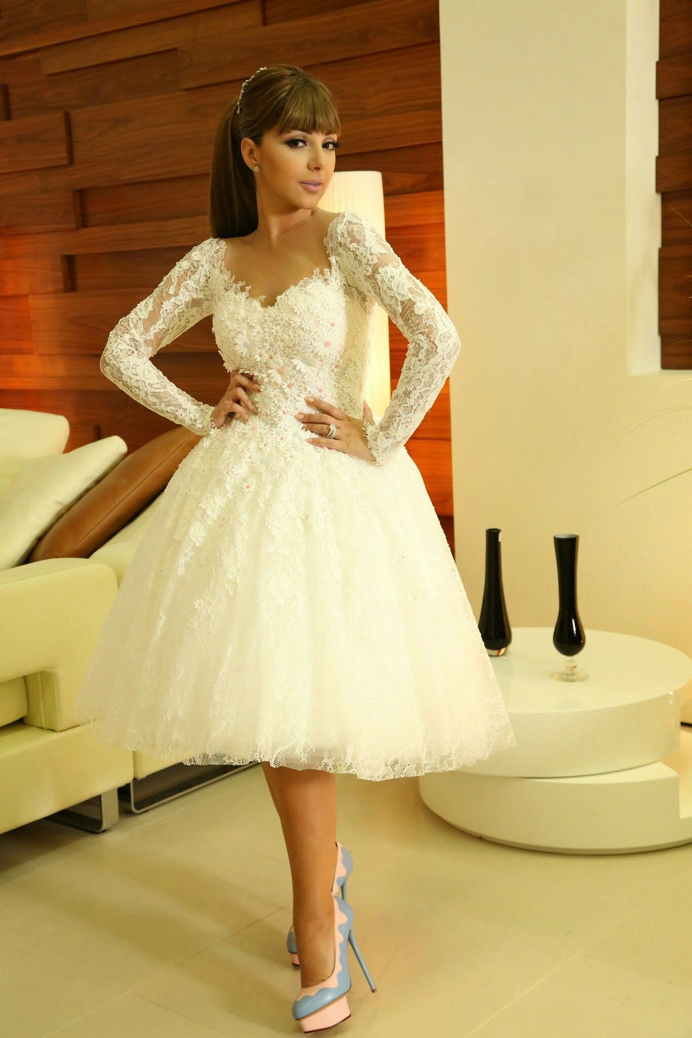 Mini wedding dresses  Pin by rania banna on Hot Mini Dress  Pinterest  Mini dresses and