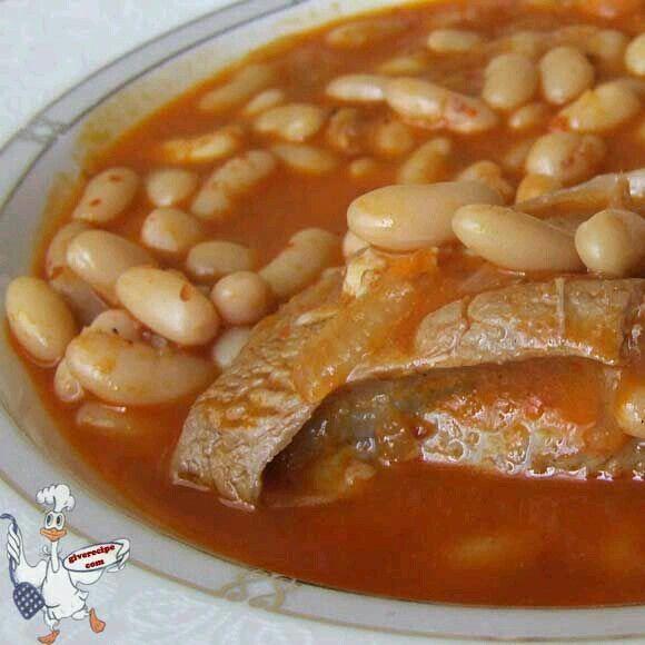 Arabische Rezepte, Türkische Rezepte, Kurdisches Essen, Armenische Speisen,  Lammeintopf, Mein Vater, Weiße Bohnen, Irakische Küche, Hülsenfrüchte