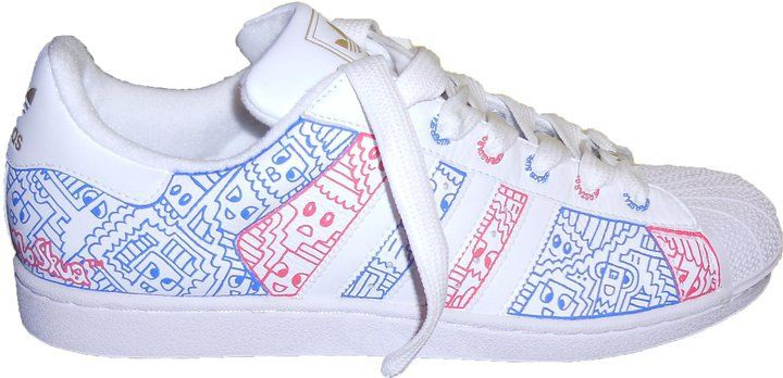 POSCA your trainer and create your own personal design ...