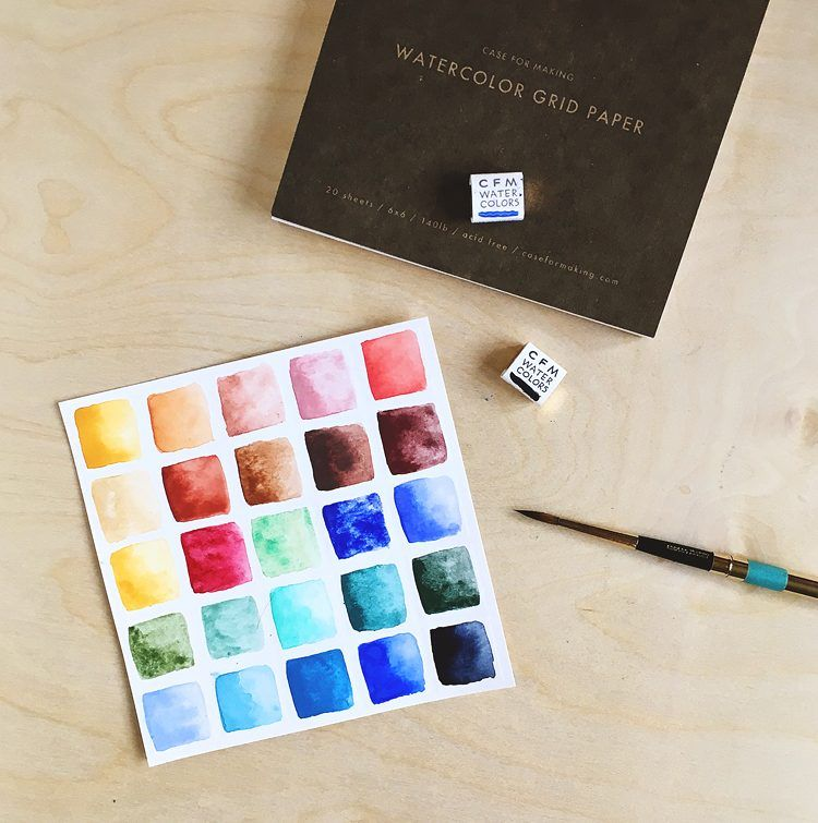 Case For Making Interview Handmade Watercolors Watercolor