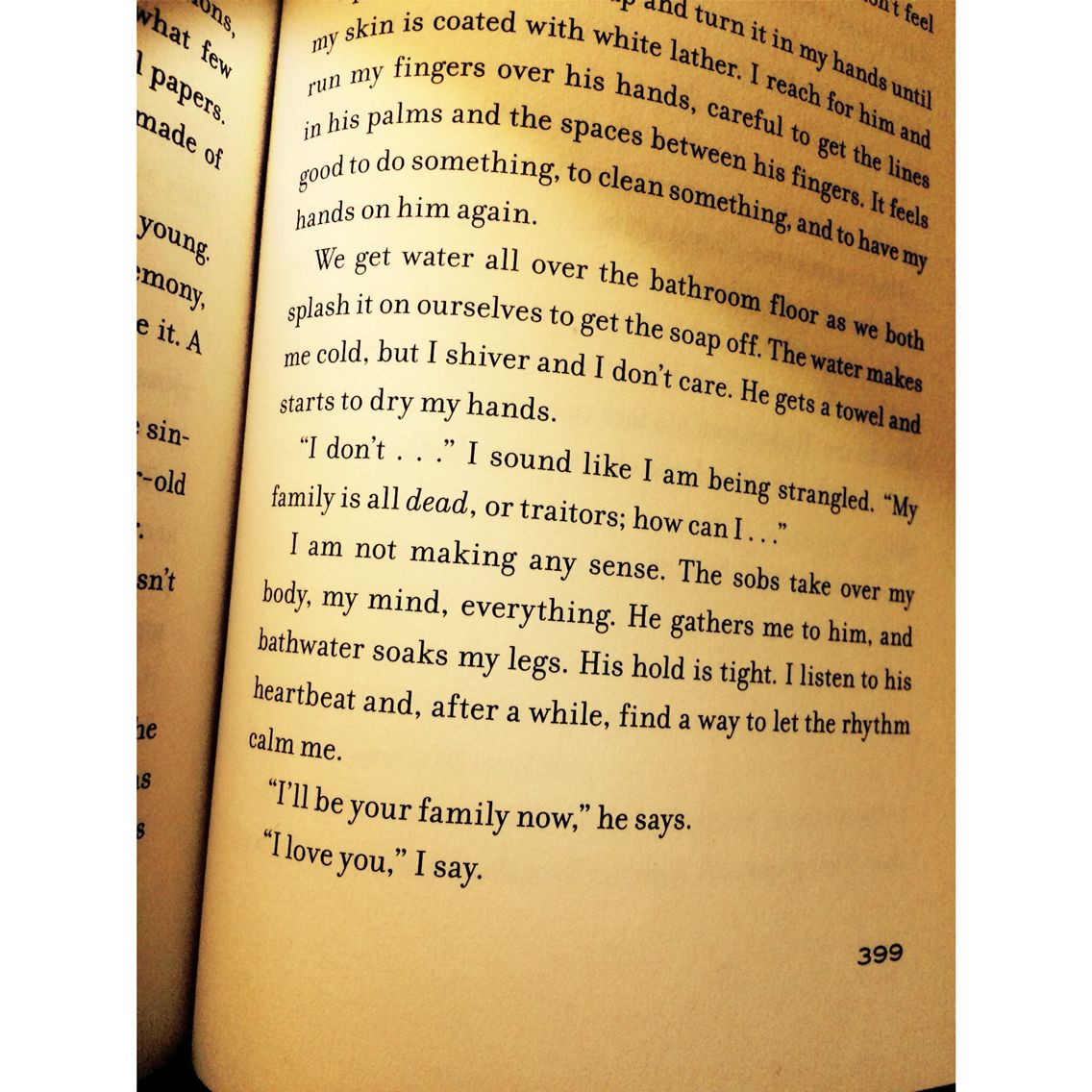 Insurgent Tobias Talking To Tris Page 399 I Ll Be Your Family Now Something To Do Divergent Series Insurgent