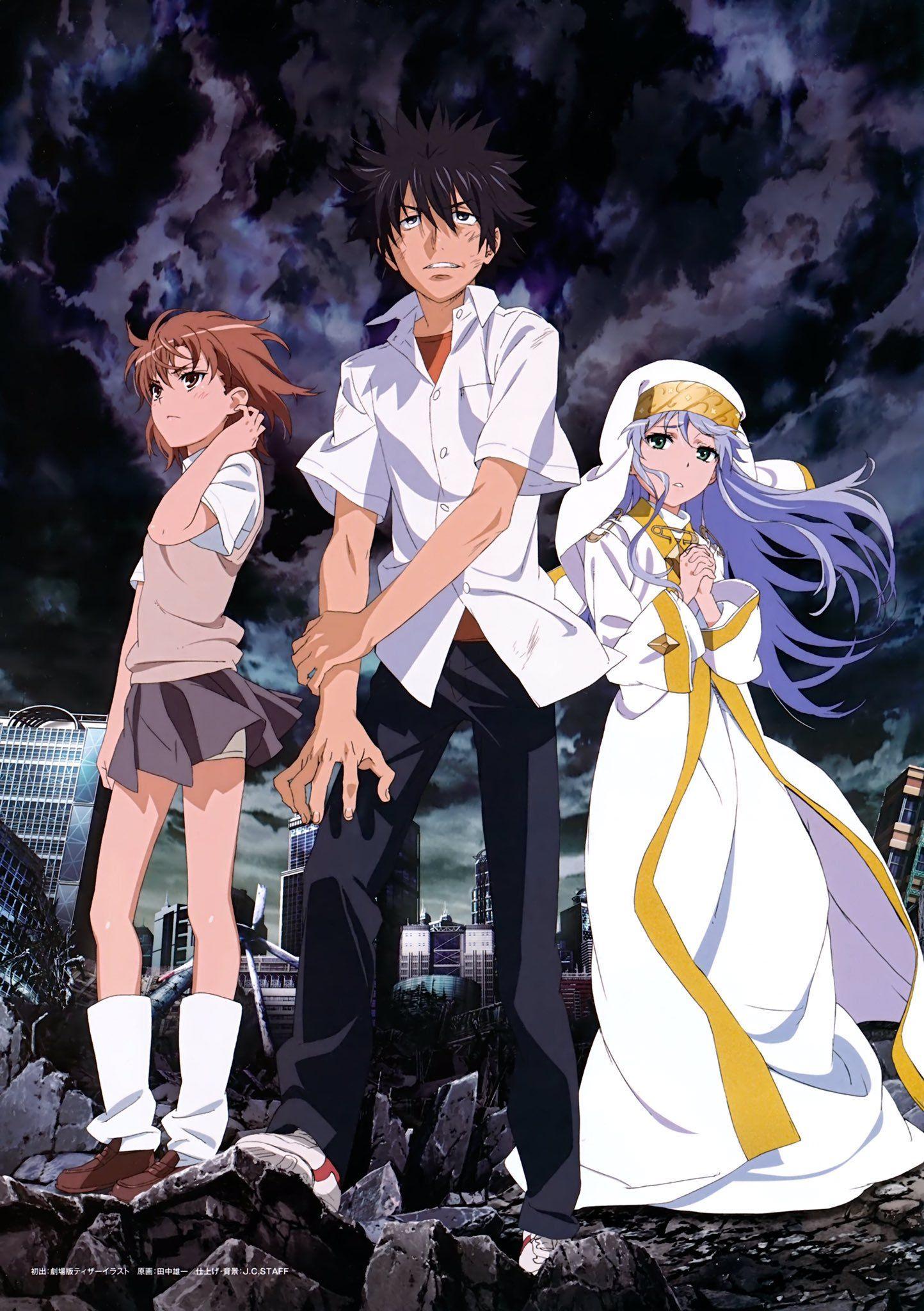 A Certain Magical Index Season 3 To Air October 2018 Anime Funny Anime Pics A Certain Magical Index