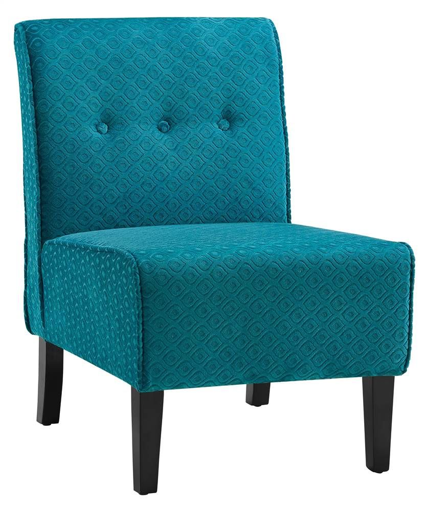 Accent chair in coco teal blue blue accent chairs teal