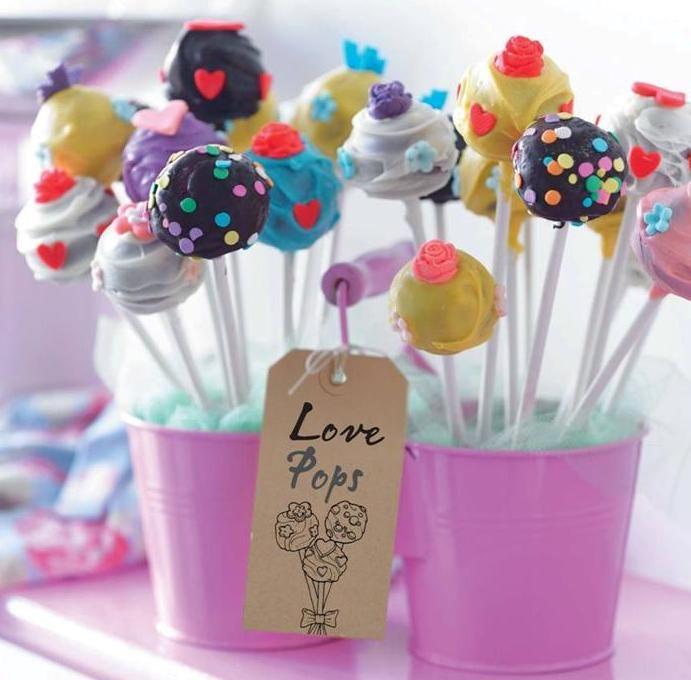 Love Pops!!! Ideal para mesas Dulces!!!