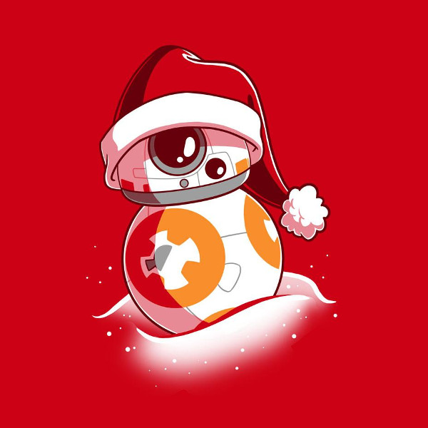 Bb 8 Santa Shirtigo Star Wars Art Star Wars Drawings Star Wars Wallpaper