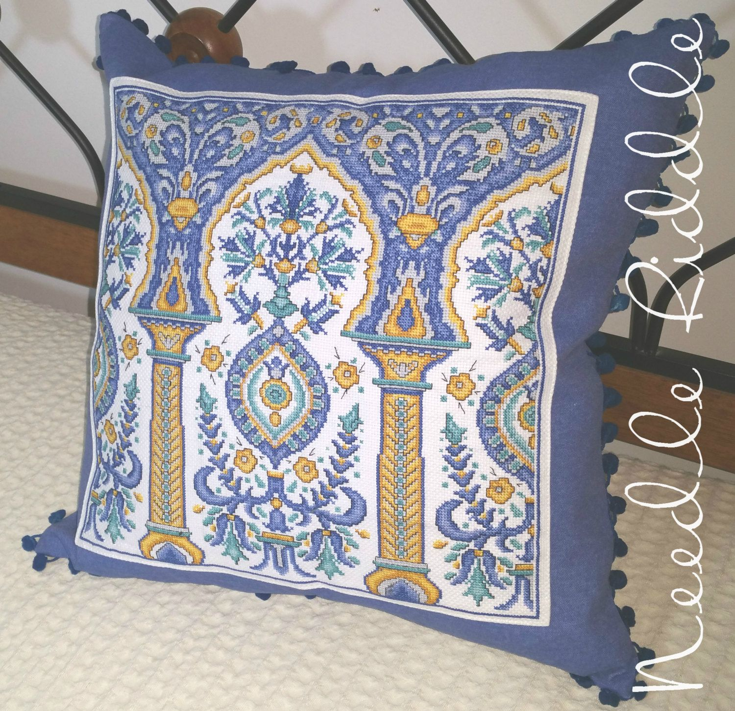Decorative couch pillow oriental style cushion modern pillow