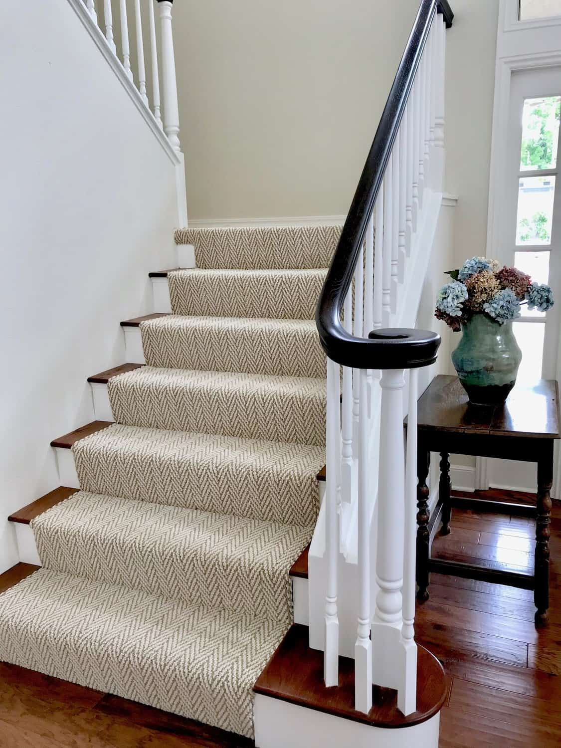 Fresh Classic Living Room And Dining Room Before And After Classic Casual Home Classic Living Room Stair Runner Carpet Carpet Staircase