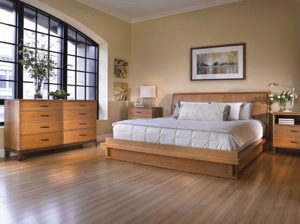 Stickley - METROPOLITAN Bedroom Collection With TRIBECA Platform ...