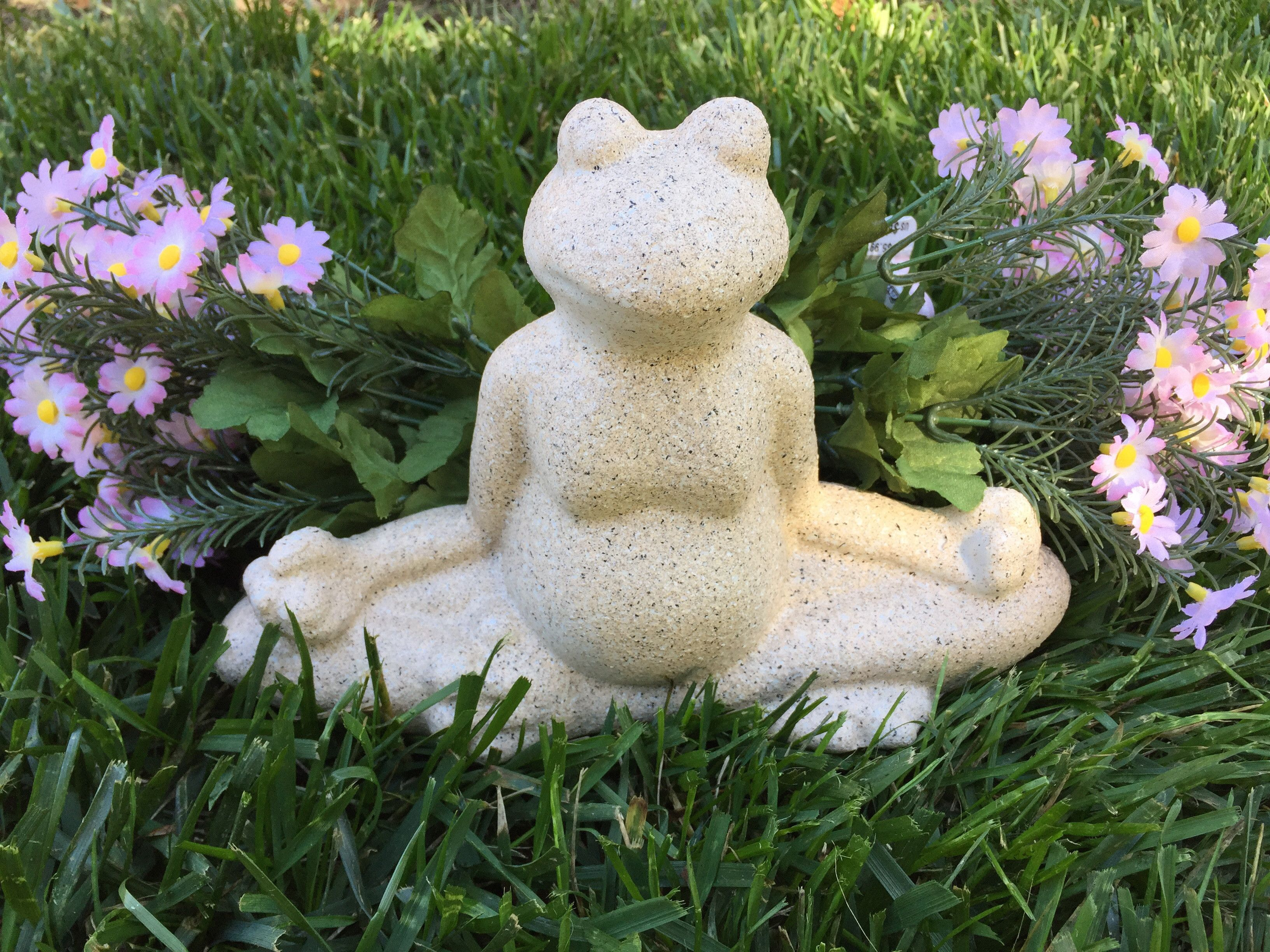 Frog statues yoga statues garden decor Mother\'s Day gifts meditation ...