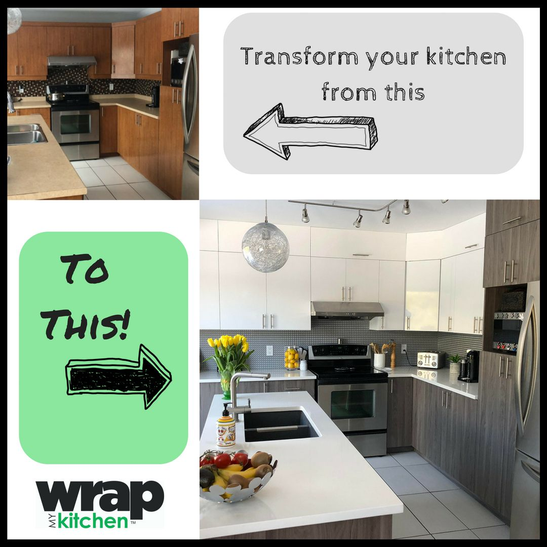 Resurface Your Kitchen Cabinet And Doors Kitchen Wrap Kitchen