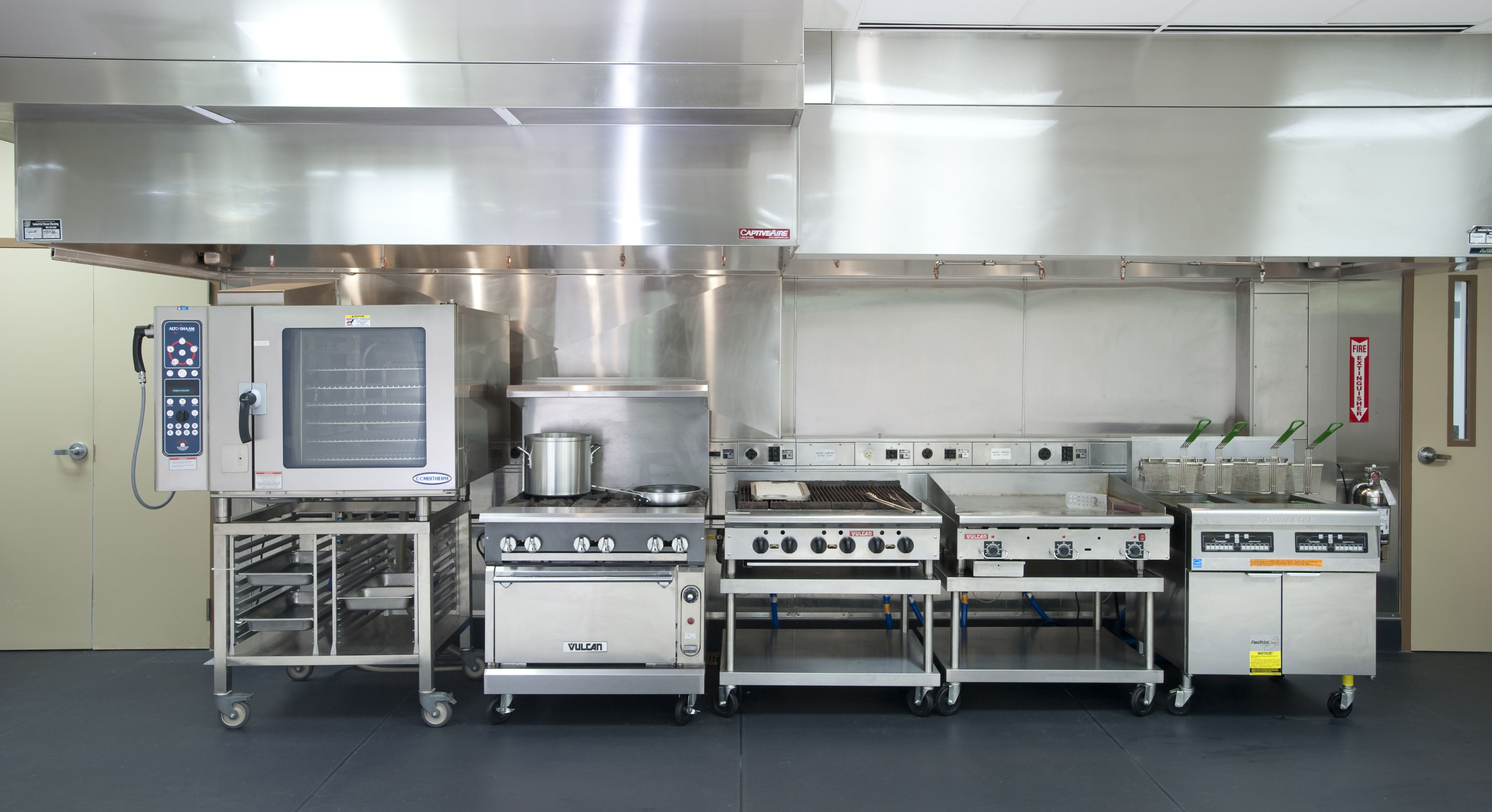 furniture,awesome small restaurant kitchen design with stainless