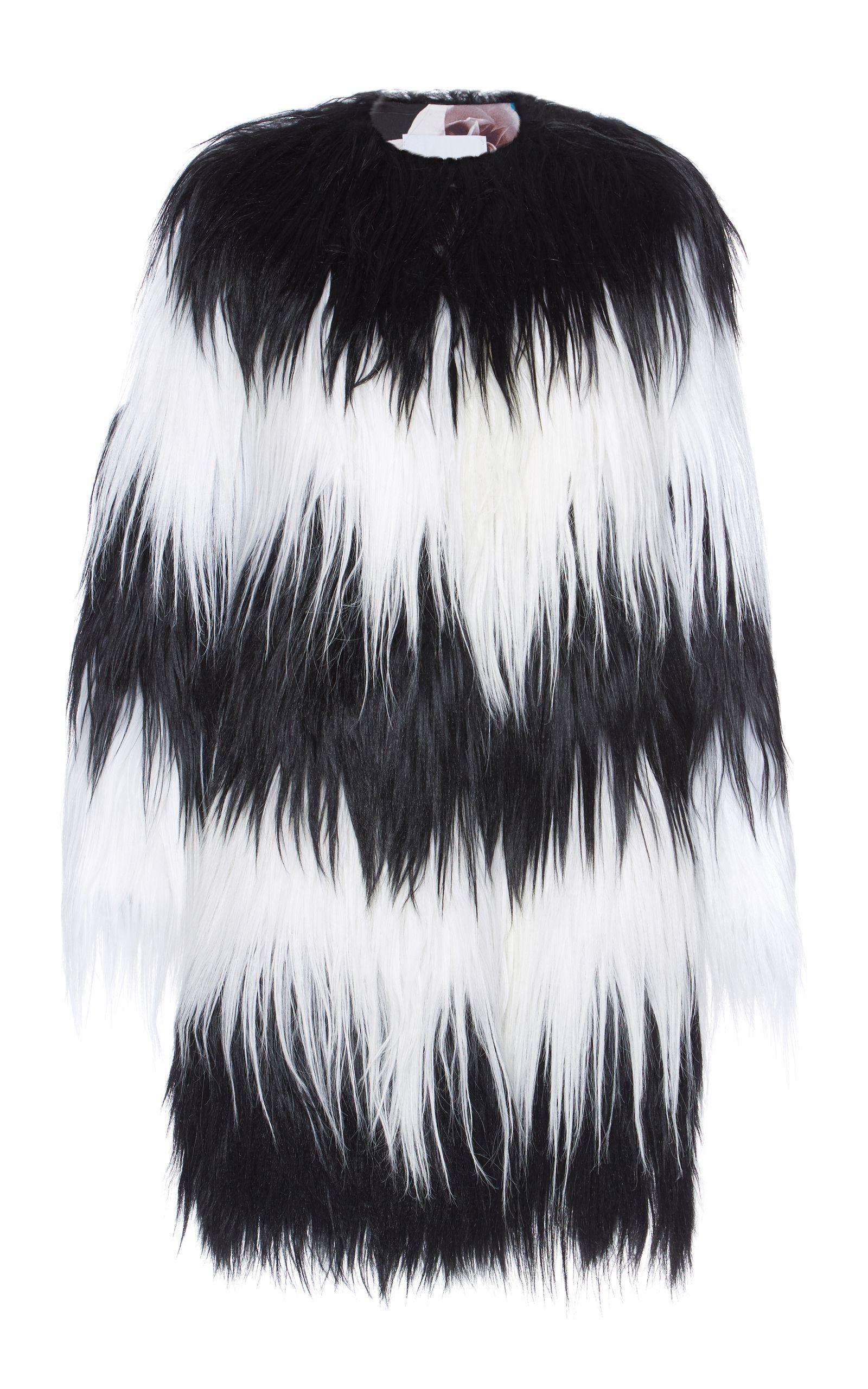 b5e47580ee0 Two Tone Kidassia Fur Coat   LOKI'S LUXURY COATS-please be aware my ...