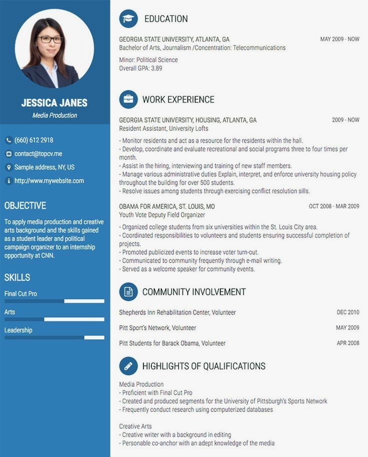 Are you looking for a editable cv example? Sign up for our