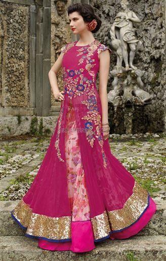 552298ade8 image of pakistani lehenga with long kurti jacket style lengha suit for  marriage