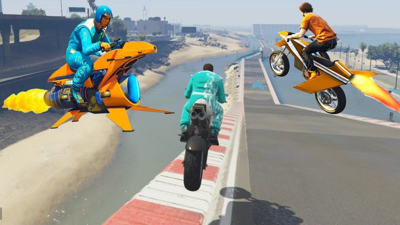 Gta 5 Online Extreme Bike Racing Game 2020 Survival Motorcycle