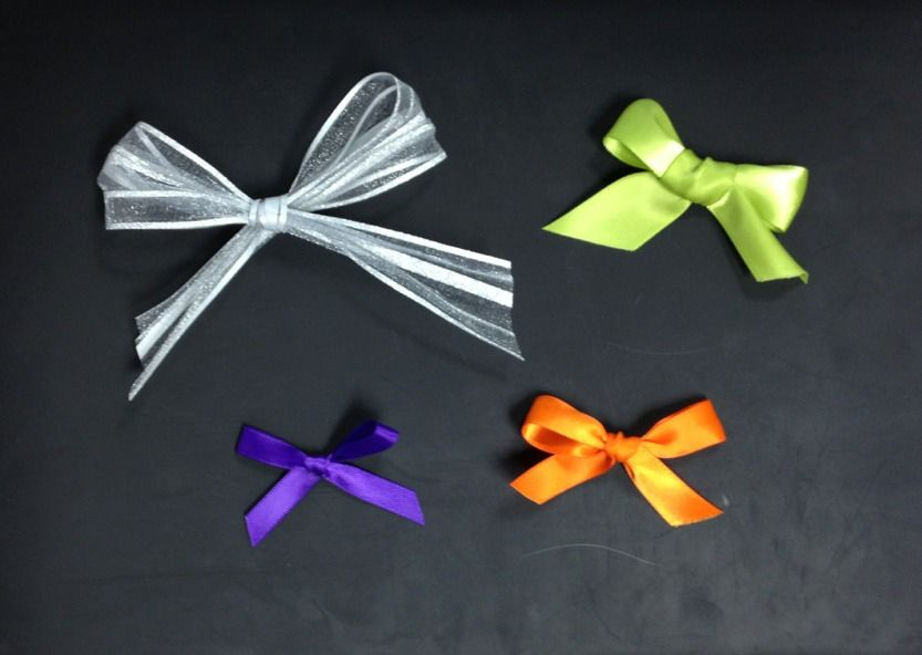 Day 332: Making bows For tomorrows post