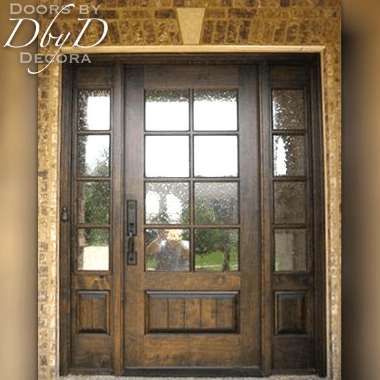 Custom Craftsman Door And Side Lites Wood Entry Doors By Decora Craftsman Door Craftsman Front Doors Wood Entry Doors