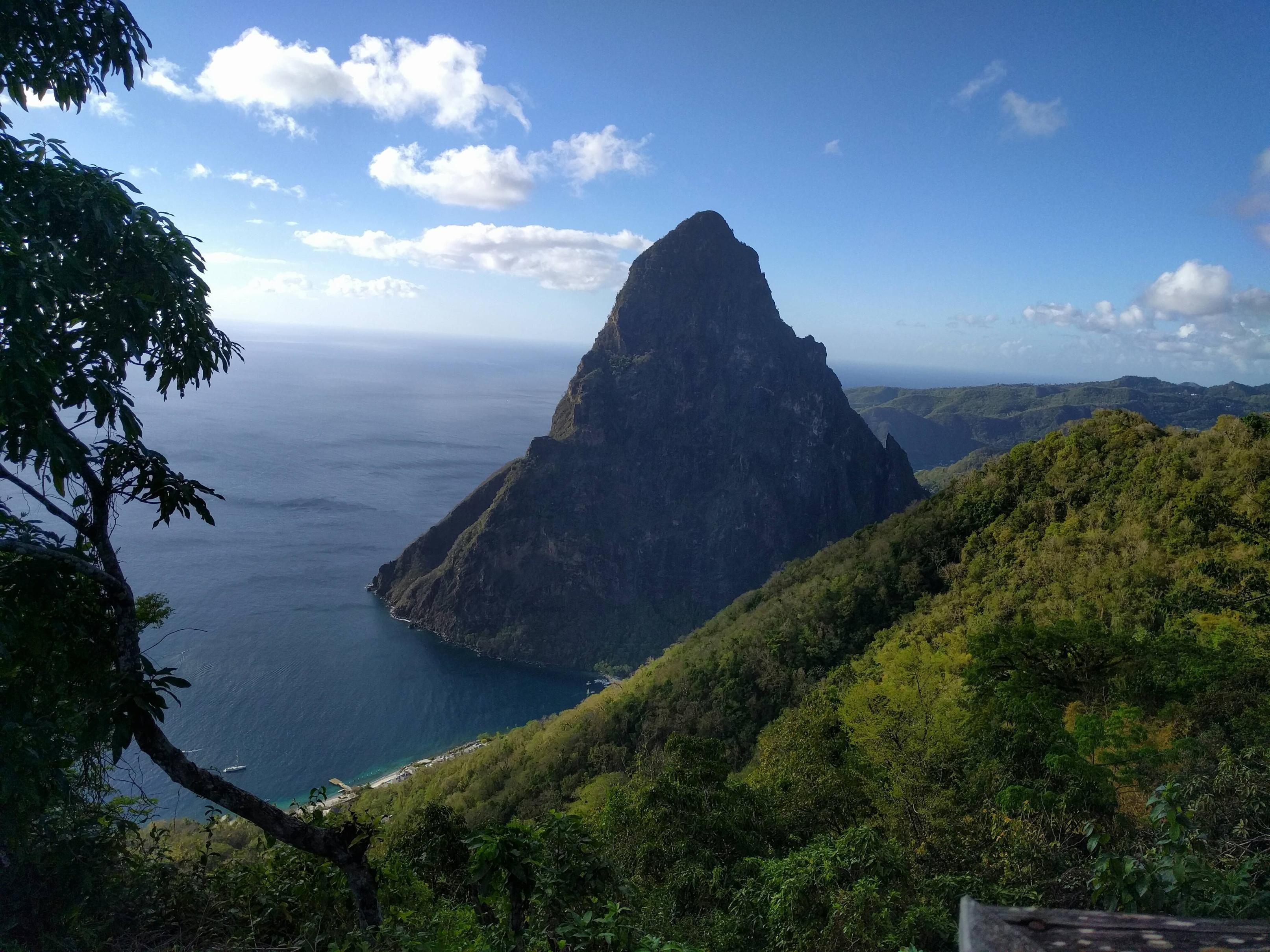 Explore The Beauty Of Caribbean: Petit Piton St. Lucia [OC] [4032x3024]
