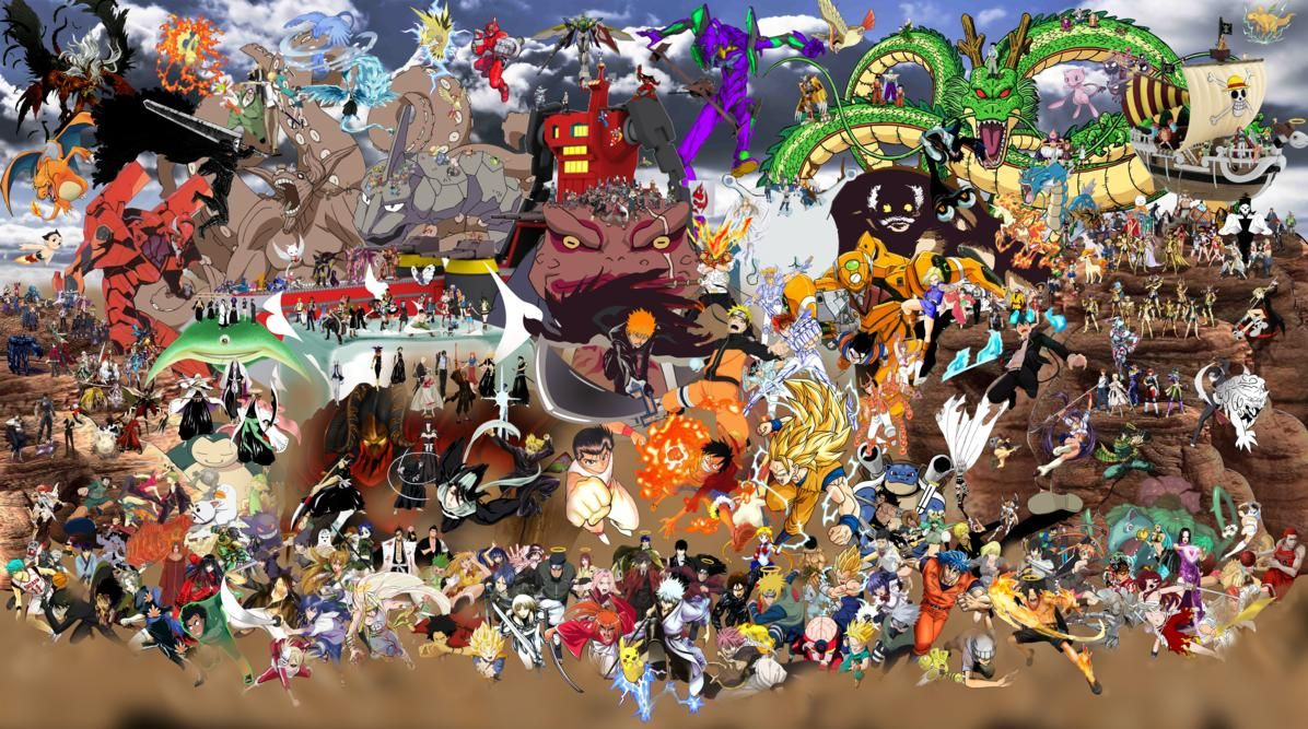 Shonen Jump Crossover Wallpaper Related Keywords ...