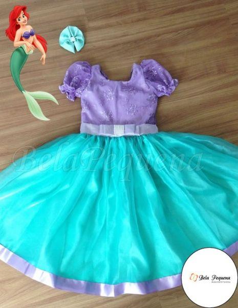Dicas De Vestidos Infantis De Festa Da Bela Pequena