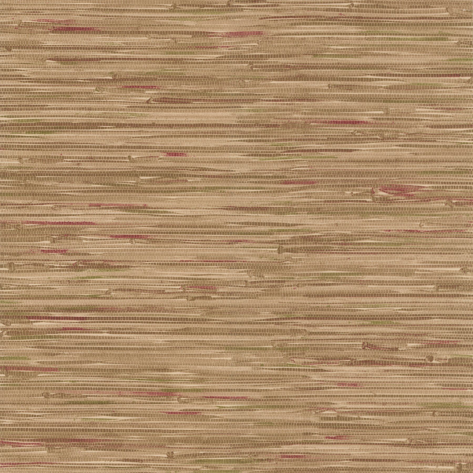 Brewster 41444139 Faraji Light Brown Faux Grasscloth