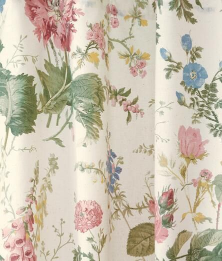 fabric by the yard cottage garden fabric country