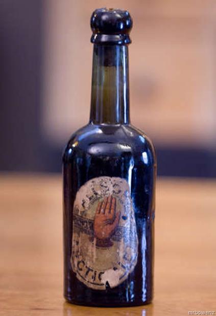 Worlds Oldest Documented Bottle of Beer–For Sale in Bethlehem, PA on eBay (Allsops Arctic Ale 1852)