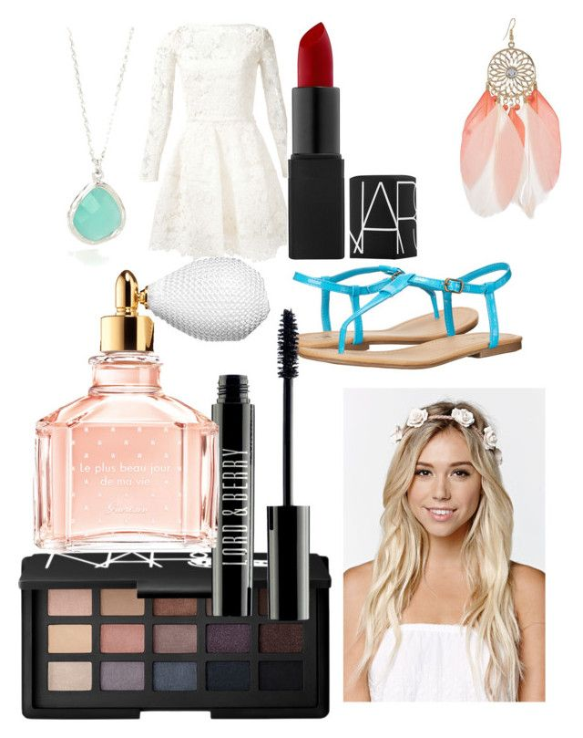 Dance by ryleesand on Polyvore featuring polyvore, fashion, style, Oscar de la Renta, MIA, With Love From CA, Lord & Berry, Guerlain and NARS Cosmetics