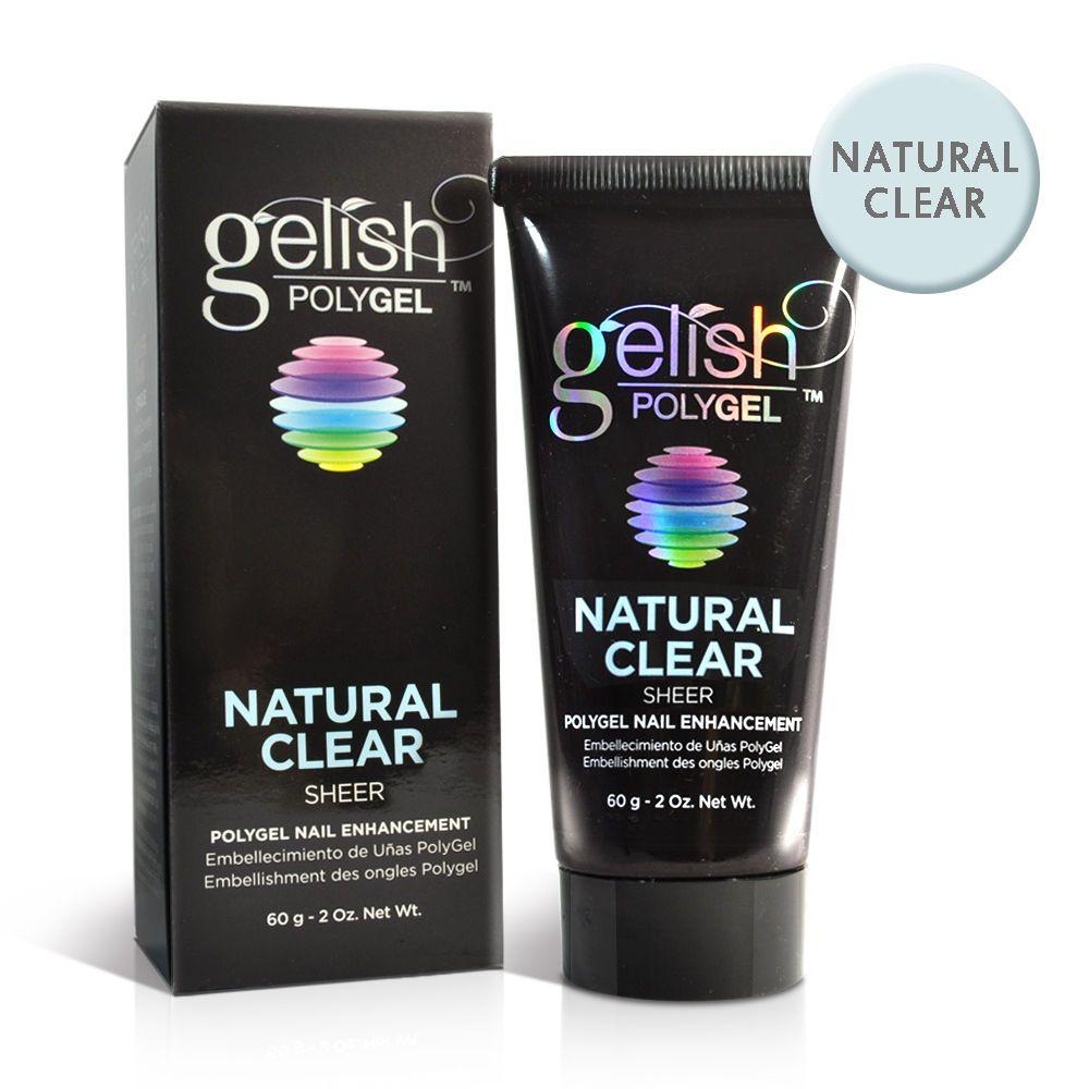 Gel Nails: Nail Gelish Harmony Polygel Natural Clear - Sheer 2Oz 60G ...