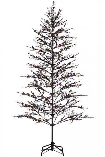 a3365bfb446 Brown Winterberry Indoor Outdoor Tree Outdoor Christmas Tree Pre. Outdoor  Metal Christmas Trees