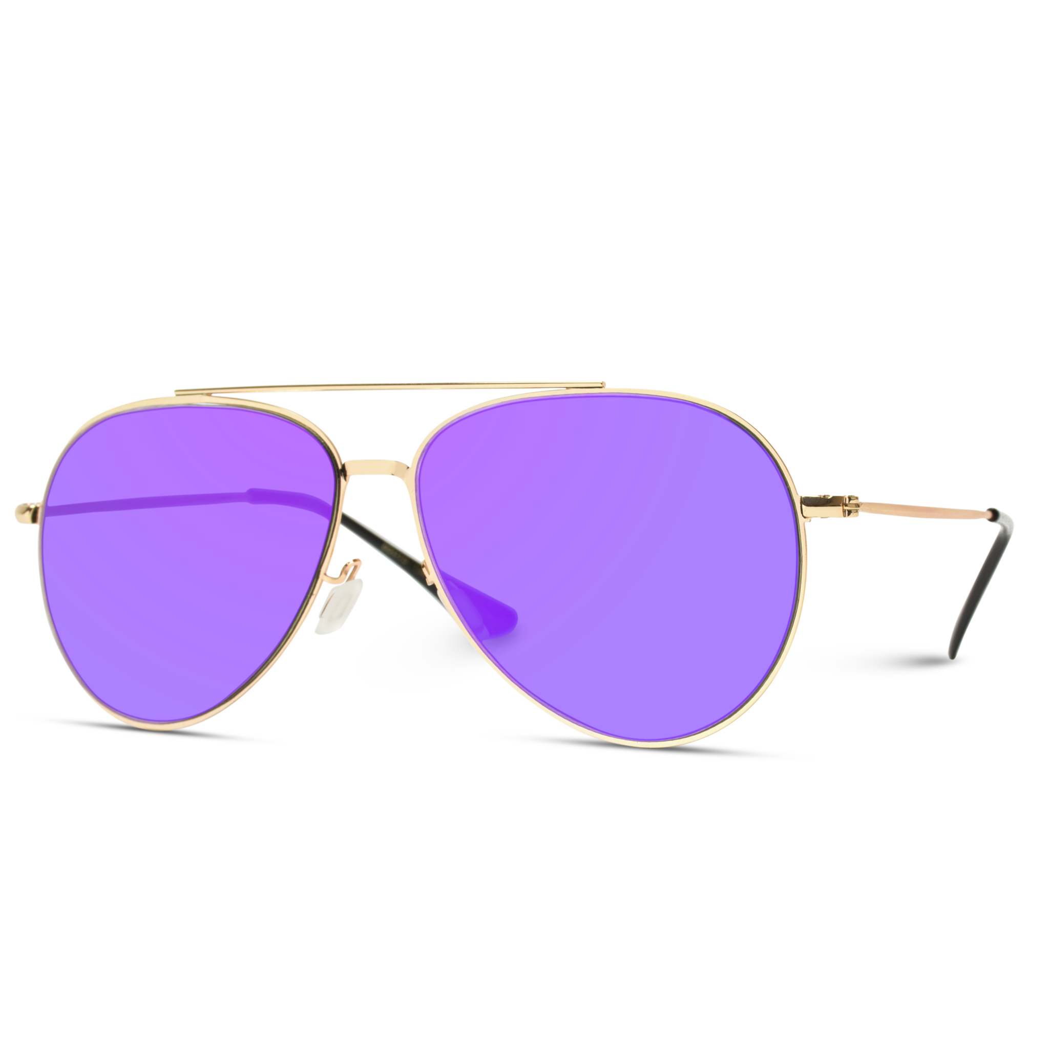 11c762f24c3d Trendy Classic Aviator Sunglasses. Elegant black aviators, pilot black  sunglasses.The Jessie is a modern take on the iconic frame as it has an  almost flat ...
