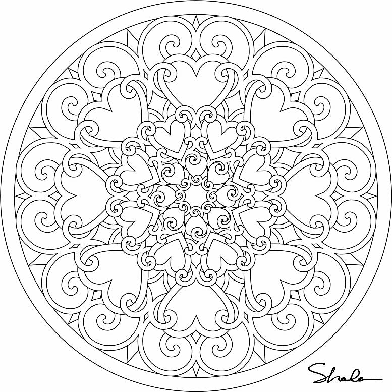 Mandala 053 | coloring | Pinterest | Mandalas, Mandalas para ...