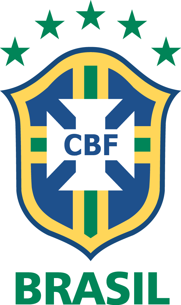 Brazil Primary Logo Pres Football Team Logos Brazil Football Team Football Logo