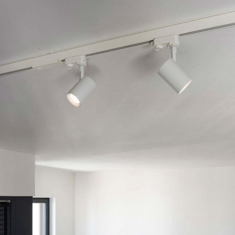 Led Leuchtenspot Debasto Fur 3 Phasen Stromschiene In Weiss Slv 0152951 Click Licht De Schienenstystem Wohnzimmer Esszimmer Led Strahler Led Leuchten