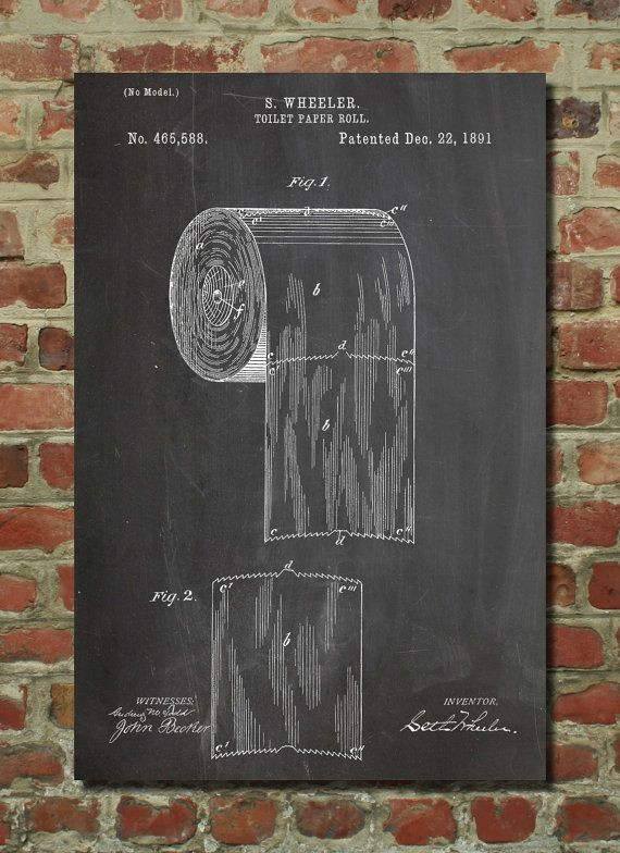 Toilet Paper Art, Bathroom Art, Bathroom Wall Decor, Bathroom Wall ...