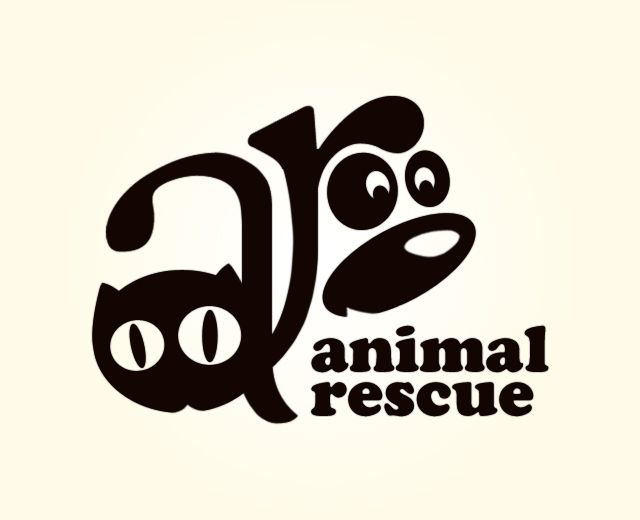 Fun Animal Rescue Logo Logos Design Logo Design Creative