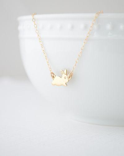 Gold Bunny Bracelet