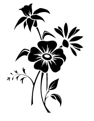 12++ Flower clipart png black and white ideas in 2021