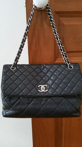 2a787501ee82 Chanel In Business Flap Bag with Silver Hardware