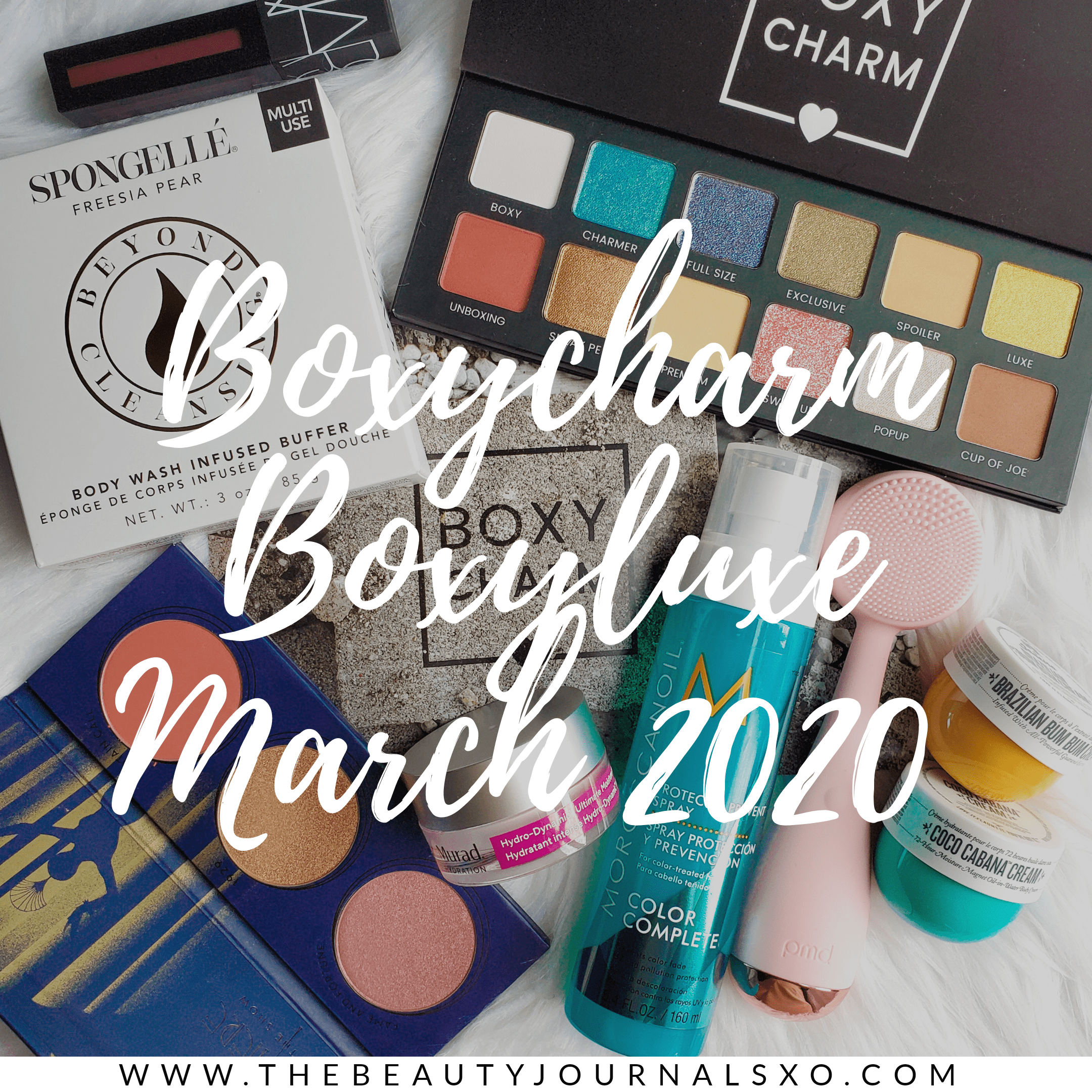 Boxycharm Boxyluxe March 2020 Spoilers and Unboxing in