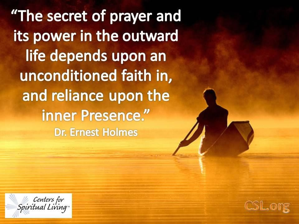 Quot The Secret Of Prayer And Its Power In The Outward Life