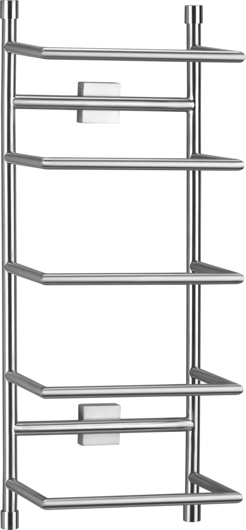 Brushed Steel Wall Mount Towel Rack Steel Wall Towel Rack Towel Rack Bathroom