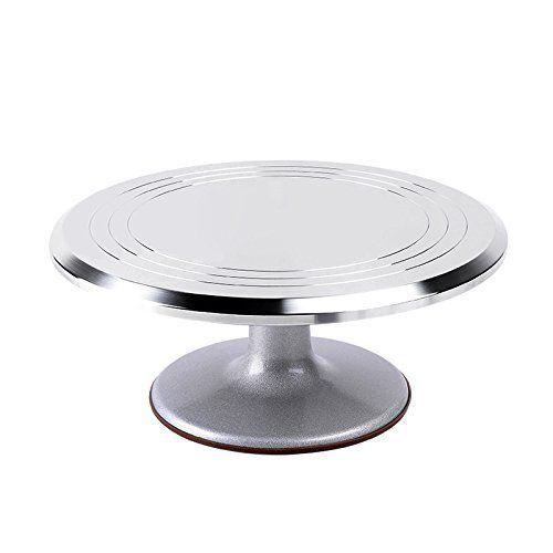 Amazon Com Pmland Cake Turntable 12 Revolving Rotating Cake