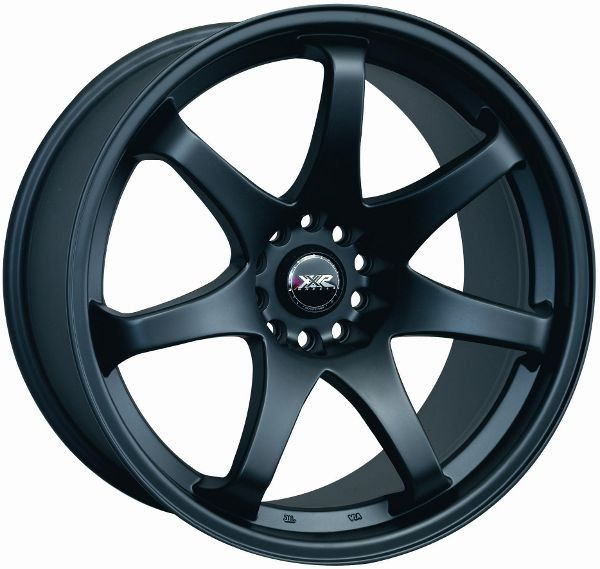 XXR Wheels XXR 522 Flat Black 17-19 Wheels
