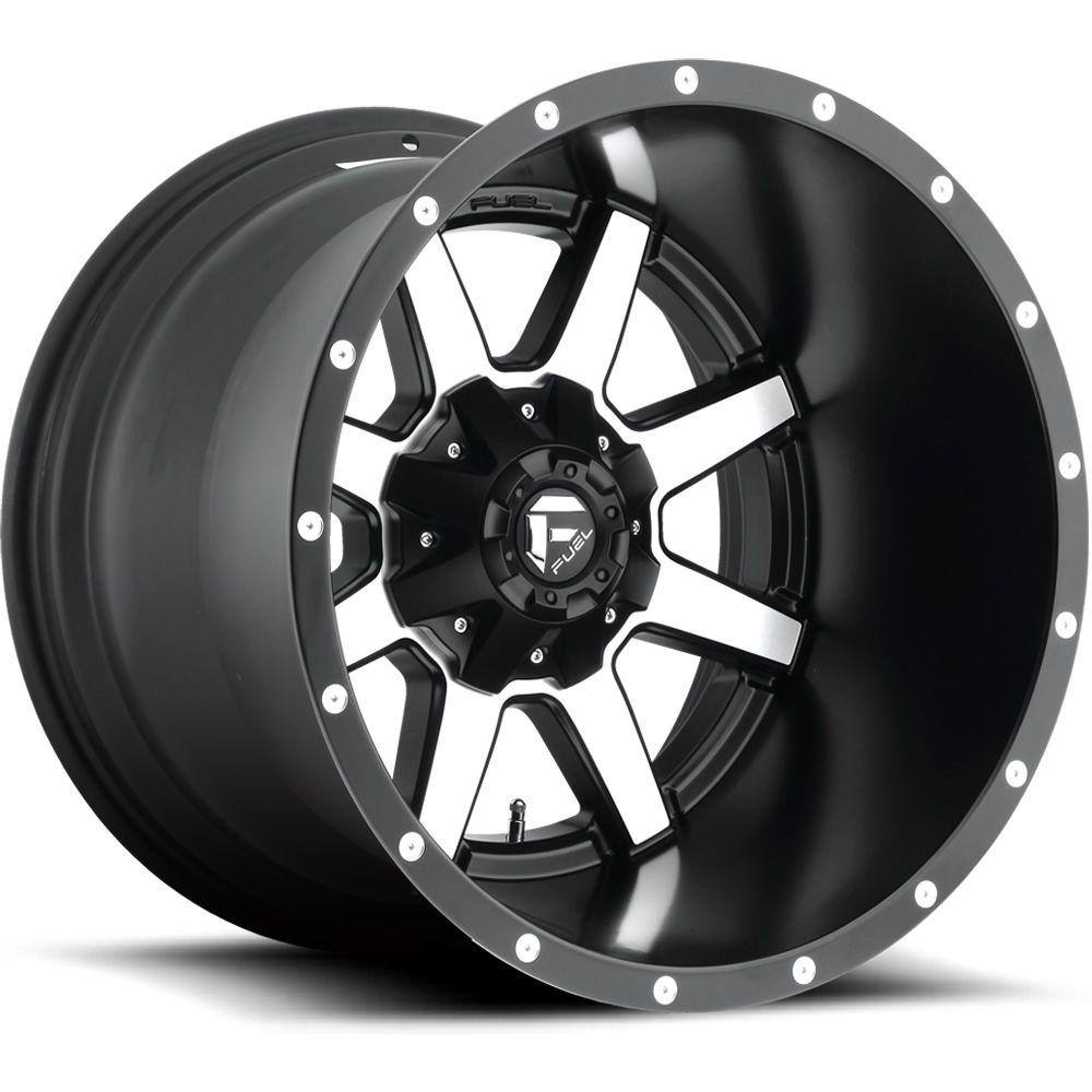 Fuel Maverick D537 20x10 24 Fuel Offroad Wheels Black Wheels Custom Wheels